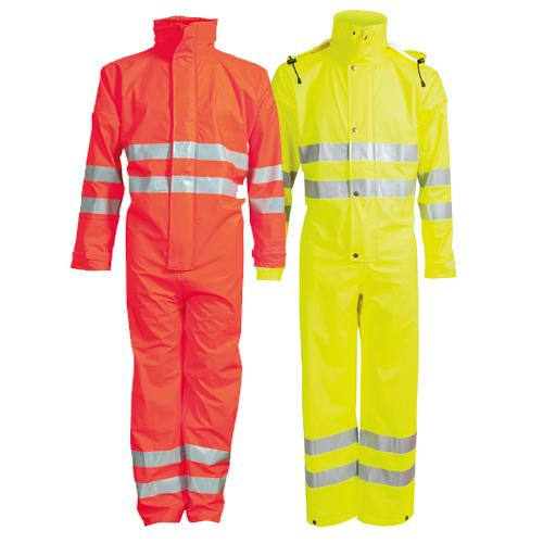 Elka 028003R Dry Zone Visible Coverall