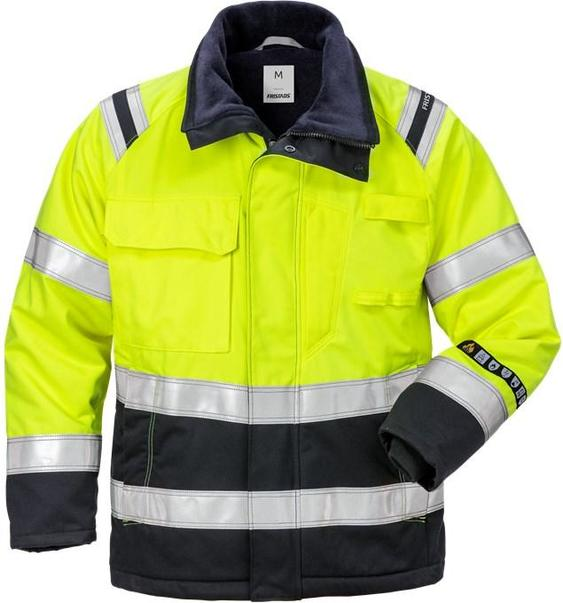 Fristads 129548 Flamestat High Vis Winter Jacket Woman CLASS 3 4285 ATHS