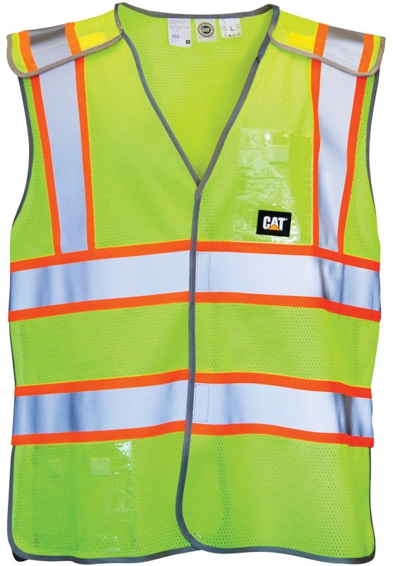 Caterpillar 1322029 5-point Breakaway Safety Vest
