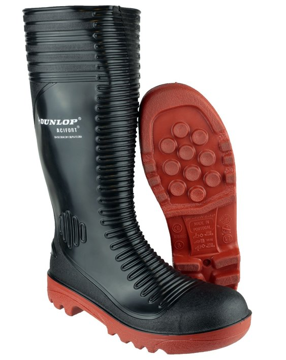 Dunlop Acifort A252931 Ribbed Safety Wellingtons