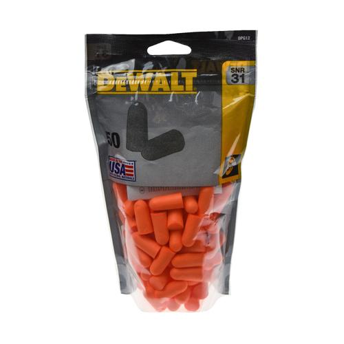 DeWalt Disposable Earplugs