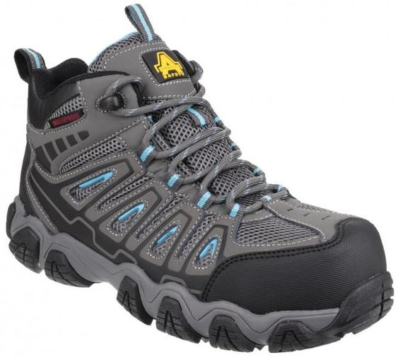 Amblers Safety AS802 Ladies Waterproof Metal Free Safety Hiker Boots