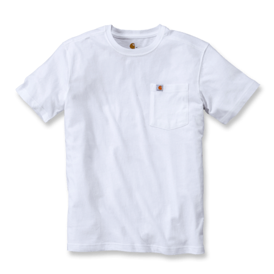 Carhartt 101125 Maddock Pocket T-Shirt - White - size XL