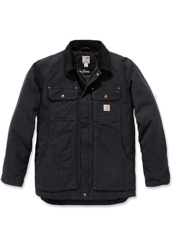 Carhartt 103283 Full Swing® Traditional Coat - Black - Size S