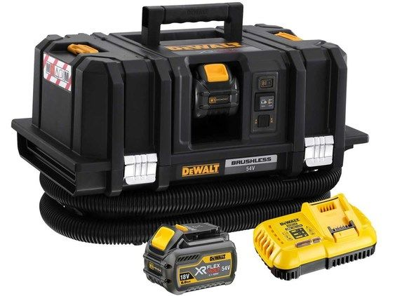 DeWalt DCV586MT2 54V 2 x 6.0Ah XR FlexVolt M-Class Dust Extractor Kit