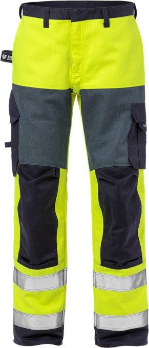 Fristads 125940 Flame High Vis Trousers CL 2 2585 FLAM