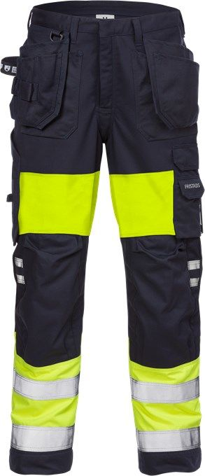 Fristads 126518 Flamestat High Vis Craftsman Trousers Woman CL 1 2777 ATHS