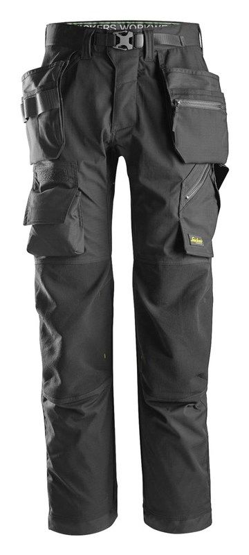 Snickers 6923 FlexiWork Floorlayer Trousers+ Holster Pockets