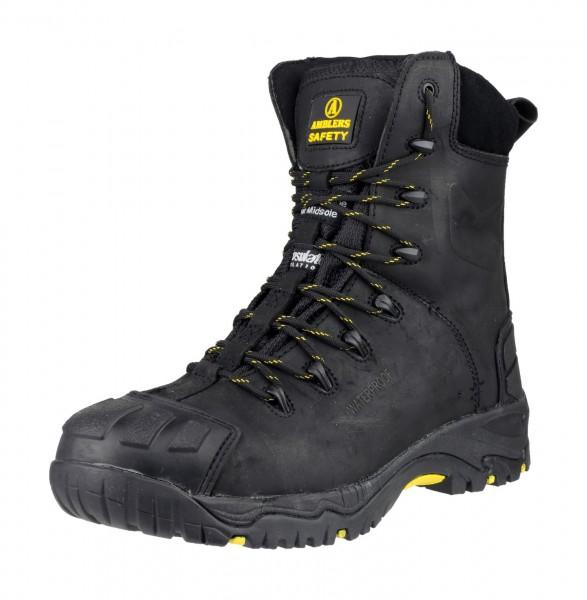 MENS SAFETY BOOTS AMBLERS AS252 STEEL TOECAP S3 SAFETY BOOTS DELAMERE